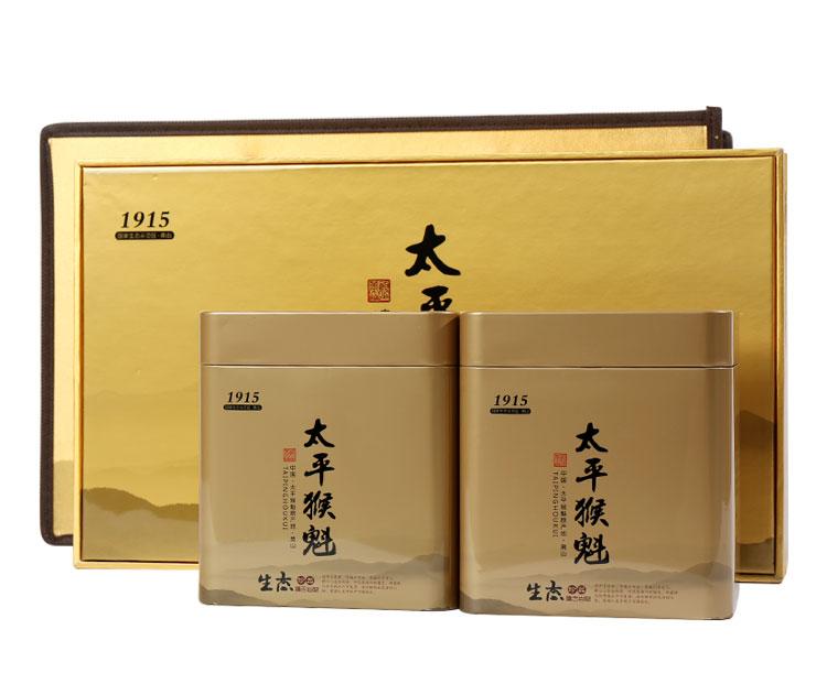 礼盒装 绿茶 太平猴魁1915礼盒装250g(含手提袋)图片